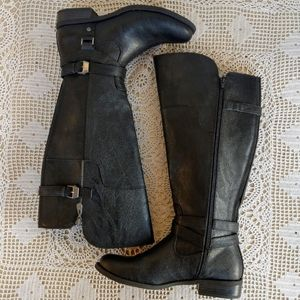 Guess Black Boots Size 9M NWOT